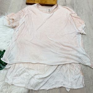 We The Free Tops - We The Free Acid Wash Oversized Blouse Top G3259